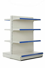 Shop Shelving, 1.8m Gondola Bay, 570mm base shelf & 4 x 470mm shelves