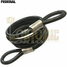 Federal FD3014 6.3mm Spiral Steel Double Loop Twisted Light Duty Cable 1.2m