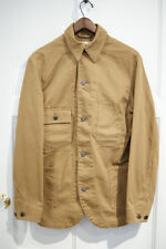 POLO RALPH LAUREN DOUBLE RL RRL KHAKI ENGINEERING RAILMAN COAT JACKET $595+