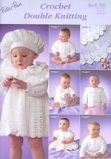 Crochet Double Knitting Baby Book Peter Pan - 290