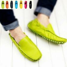 Unisex Mens Womens Suede Casual Moccasins Loafers Soft Diving Colors Pumps Shoes