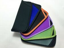Spectacle Reading Glasses Pouch Soft Easy Slip in Open Multi-Color V021