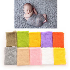 Baby Photography Props Mohair Wrap Boy and Girl Knitted Crochet Photo Prop GC