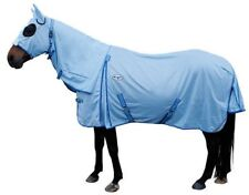CARIBU X-Long Gusset Fly Air Mesh Attached hood Horse Rug. 4 Broad Built Horses