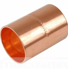 15mm Copper End Feed Plumbing Fittings Pack of 2, 5, 10, or  25