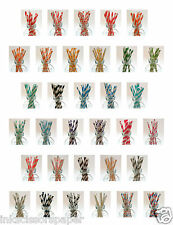 Colorful Paper Straws - 40 Straws - Biodegradable - Available in Thirty Colors