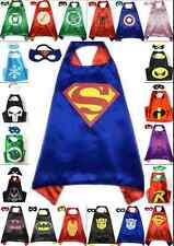 Boys and Girls gift Superhero Cape cape&mask for kids birthday party favors