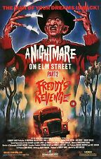 A Nightmare on Elm Street 2: Freddy's Revenge 1985 Slasher/Horror Movie POSTER
