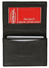 Marshal Leather Expandable Gussett Credit/Business Card Holder w/ID Window-#70