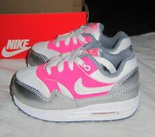 Infant Baby Toddler Girls NIKE AIR MAX 1 TD Sneakers 631888 - size 3 4 5 6 7 8