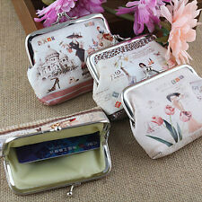 Fashion Gril Flower Wallet Card Holder Case Coin Purse Clutch Handbag Bag