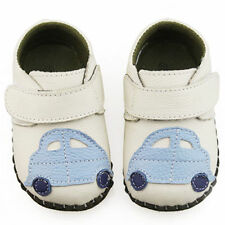 Toddle Baby cute car leather shoes soft soles Crib Shoes Size 0-30 months