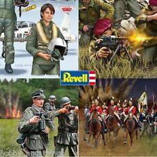 Revell Matchbox Soldiers British German Pacific US WWII NATO Pilots Waterloo WWI