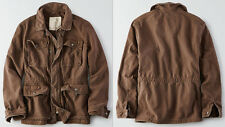 American Eagle AE Surplus Military Jacket Coat Outerwear Olive Brown NWT