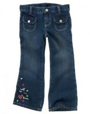 NWT Gymboree Pups and Kisses Jeans Hugs and Kisses Embroidered Size 5 6 8 12