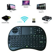 Multi-touch Rii i8 mini keyboard 2.4GHz wireless Gaming fly air mouse for tv box