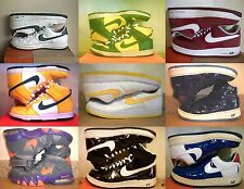 NIKE FORCE SHEED DUNK WHITE GREEN RED YELLOW BLUE BLACK 10 10.5 11 12 13 14 15