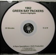 1962 Green Bay Packer Highlights - Lombardi's Greatest Team, now on DVD!