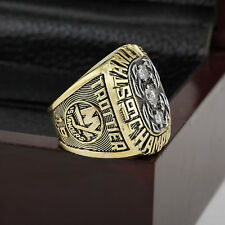 1982 NEW YORK ISLANDERS Stanley Cup Championship Solid Ring 10-13SIZE+WOODEN BOX