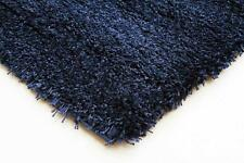 Pan Denim FOUR SIZES New Modern Thick X Heavy Shaggy Floor Rug FREE DELIVER