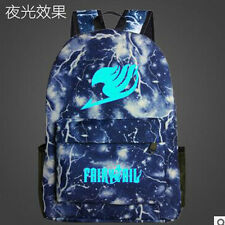 Fairy Tail Night Lights Backpack Shoulders Bag Laptop Bag Schoolbag Bookbag