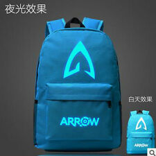 Green Arrow Night Lights Backpack Shoulders Bag Laptop Bag Schoolbag Bookbag