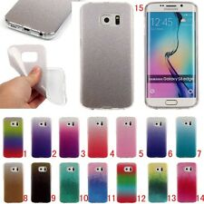 New Slim Bling Soft Silicone TPU Rubber Gel Back Case Cover For Samsung Galaxy