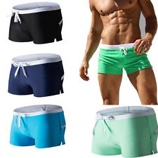 Trunks Sexy Underwear Swim Shorts Swimming Pants Men's Boxer Briefs Swimwear