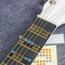 Beginners Guitar Ukulele Music Note Fret Stickers Label Decals NEW. II