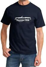 Triumph TR-6 TR6 Classic Sports Car Design Tshirt NEW FREE SHIP