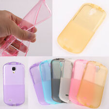 Transparent Soft Rubber Gel Case Cover TPU Back Skin For Samsung Galaxy Phones