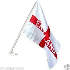 England St George Car Flag 30x45cm World Cup England FA Flag Supporters Party