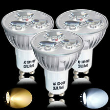 8 20x GU10 4W LED Bulbs Spotlight High Power Day Warm White Light Spot Bulb Lamp