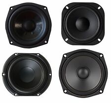 """NEW 5-1/4"""" 5.25"""" Inch Replacement Subwoofer Woofer Speaker Variety 4 Ohm & 8 Ohm"""