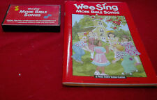Wee Sing More Bible Songs Cassette Tape and Book Kids Music