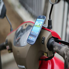 VG Universal Cell Phone Motorcycle Mount Magnetic Holder Easy Attachment Safety