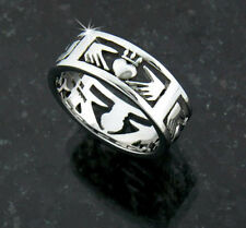316L Stainless Steel Claddagh Band