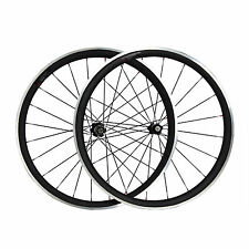 38mm Clincher Carbon Wheels Alloy Brake Bicycle Carbon Aluminum Road Bike Wheels