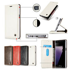 For Samsung Galaxy Note7 Flip Magnetic PU Leather Stand Case Wallet Card Holder