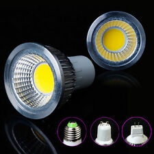 4W Dimmable COB LED Spot Light Bulb Downlight E27 GU10 E14 85-265V Free Shipping