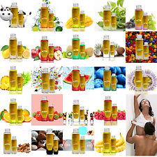 20+ Flavored Food Grade Warming Massage Oil Feels Smells Delicious Lotion Lube G