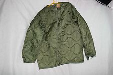 COLD WEATHER M65 FIELD JACKET COAT LINER VARIOUS SIZES (S,M,L) US MILITARY