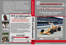 1974 At Indianapolis - Johnny Rutherford's first Indy win -  COLOR!