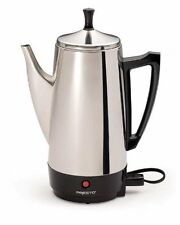 Percolator Coffee Stainless 12 Cup Maker Presto Steel Electric 02811 Pot Machine