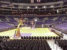 2 LAKERS VS. SACRAMENTO KINGS TICKETS, 4/7- SECTION 106, ROW L- FLOOR-OFFER
