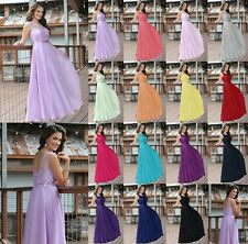 2016 New Formal Lace Evening Ball Gowns Party Prom Bridesmaid Dresses Stock 6-18
