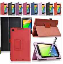 Noble Stand Fold PU Leather Case Cover For Asus Google Nexus 7 2 FHD 2nd 2Gen