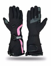 Womens Snowmobile Winter Waterproof Motorcycle Driving Skiing Snowboarding Glove