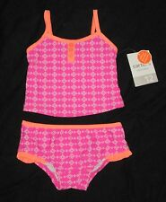 NWT Infant Baby Girls Carters Tankini Bathing Swim Suit - size 12 or 24 months