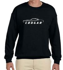 1969 1970 Mercury Cougar Coupe Classic Outline Design Sweatshirt NEW